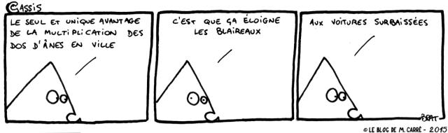 Cassis, un strip de M. Carré