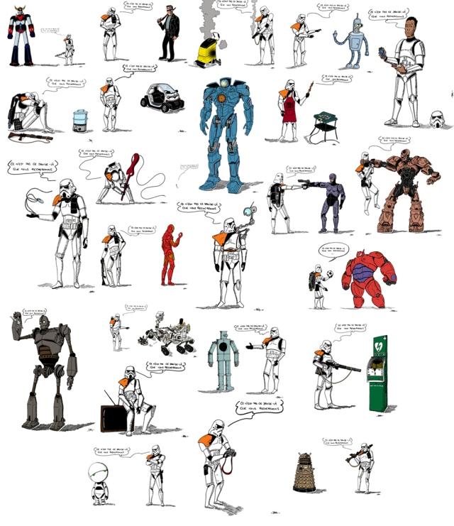 Recherche droïdes désespérément