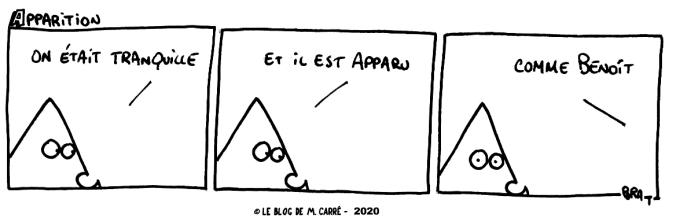 apparition monsieur carré